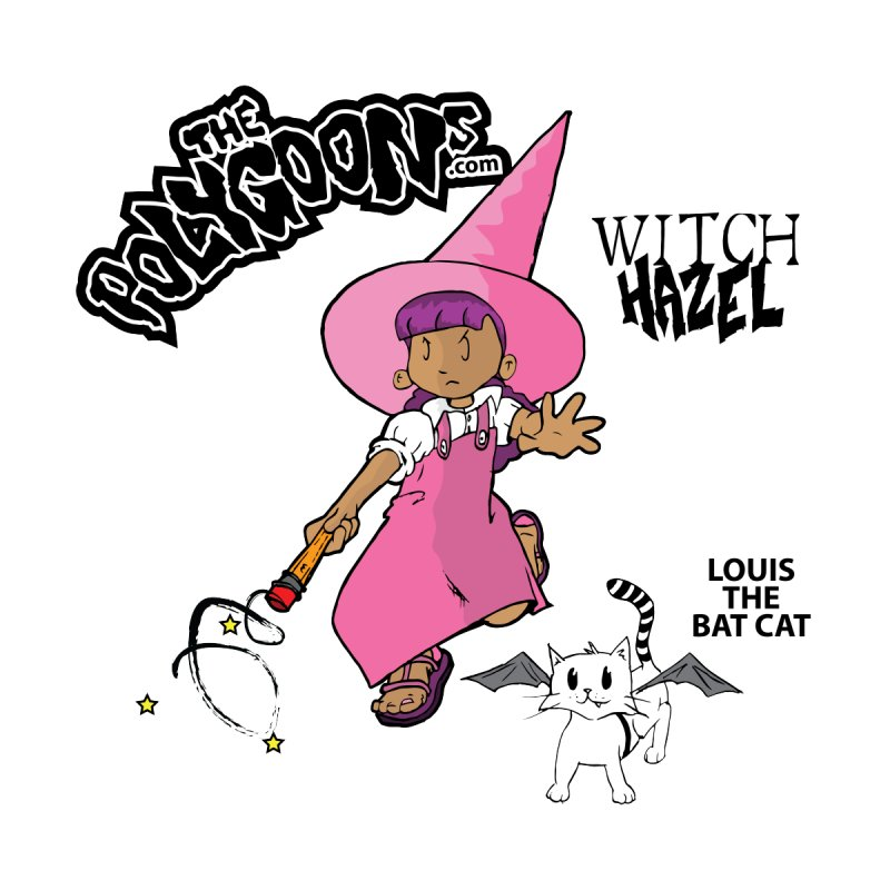 Witch Hazel + Louis (color) Home Throw Pillow by The Polygoons' Shop