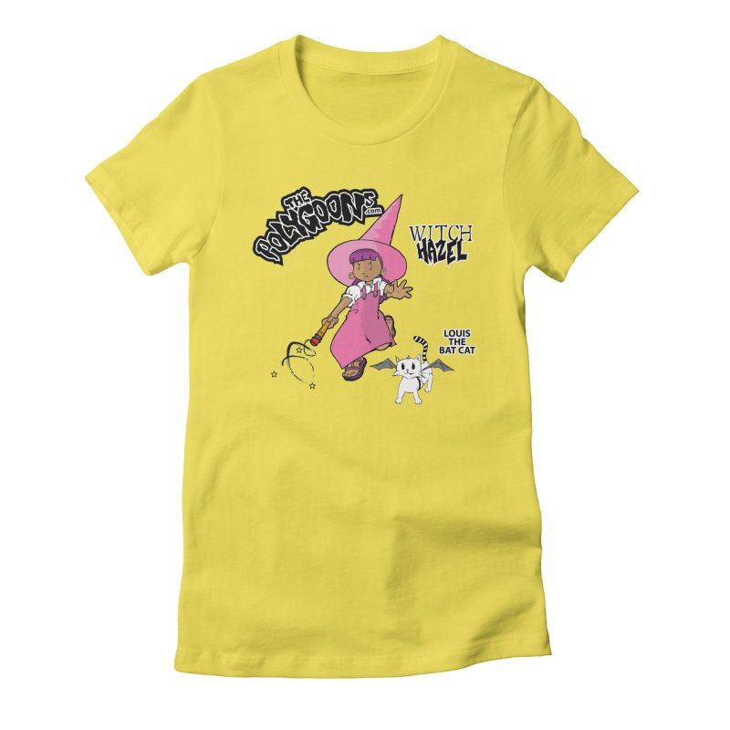 Witch Hazel + Louis (color) Women's T-Shirt by The Polygoons' Shop
