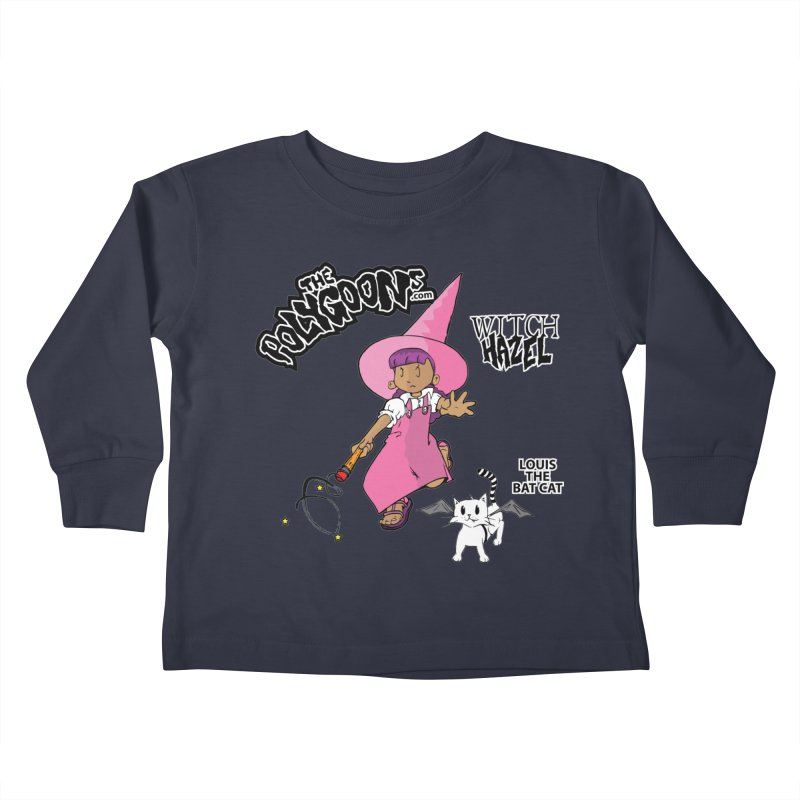 Witch Hazel + Louis (color) Kids Toddler Longsleeve T-Shirt by The Polygoons' Shop