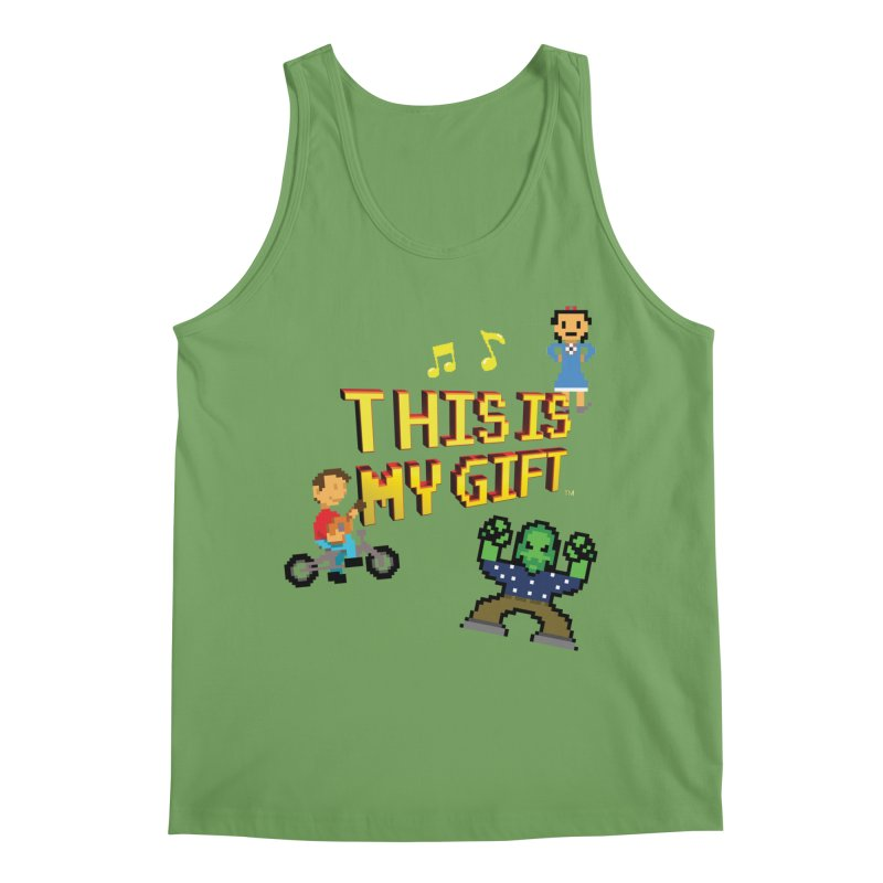 TIMG 1 Men's Tank by The Polygoons' Shop