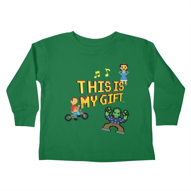 TIMG 1 Kids Toddler Longsleeve T-Shirt by The Polygoons' Shop
