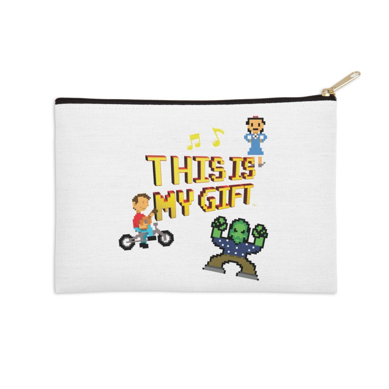 TIMG 1 Accessories Zip Pouch by The Polygoons' Shop