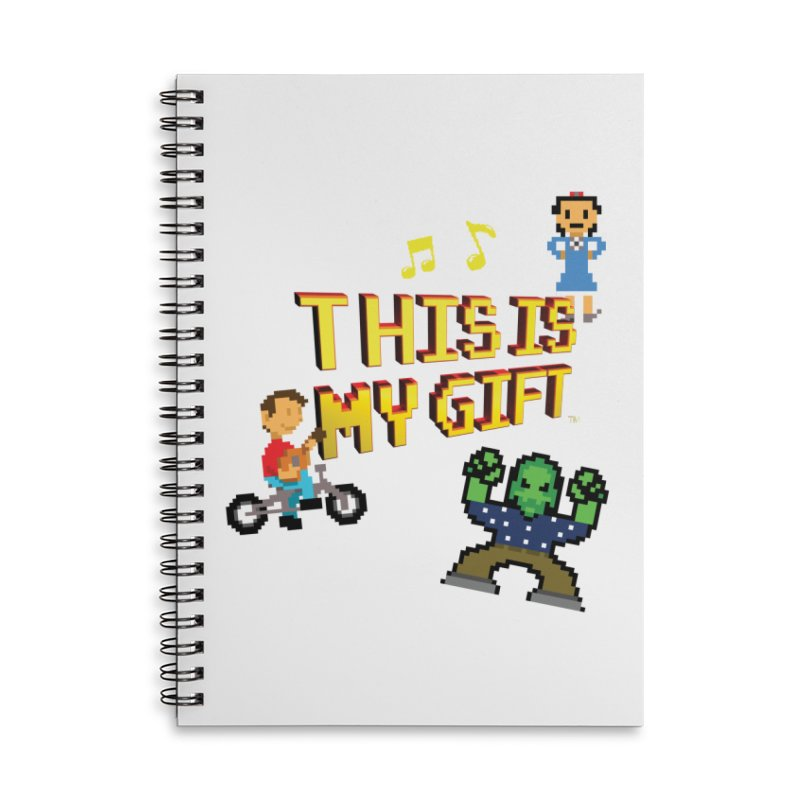 TIMG 1 Accessories Notebook by The Polygoons' Shop