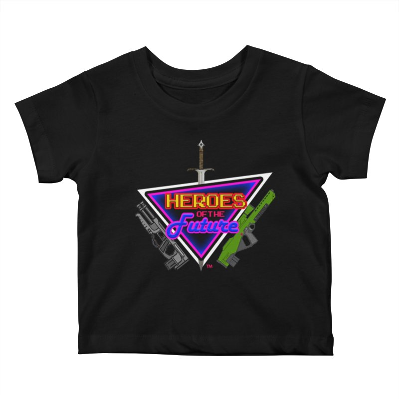 Heroes of the Future Kids Baby T-Shirt by The Polygoons' Shop