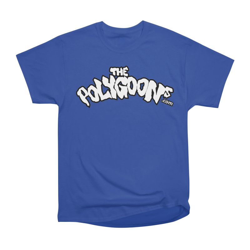 The Polygoons Logo BIG in Men's Classic T-Shirt Royal Blue by The Polygoons' Shop