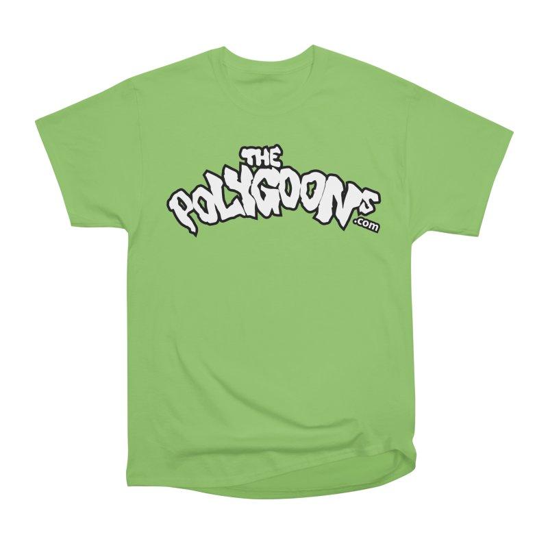 The Polygoons Logo BIG Men's Heavyweight T-Shirt by The Polygoons' Shop