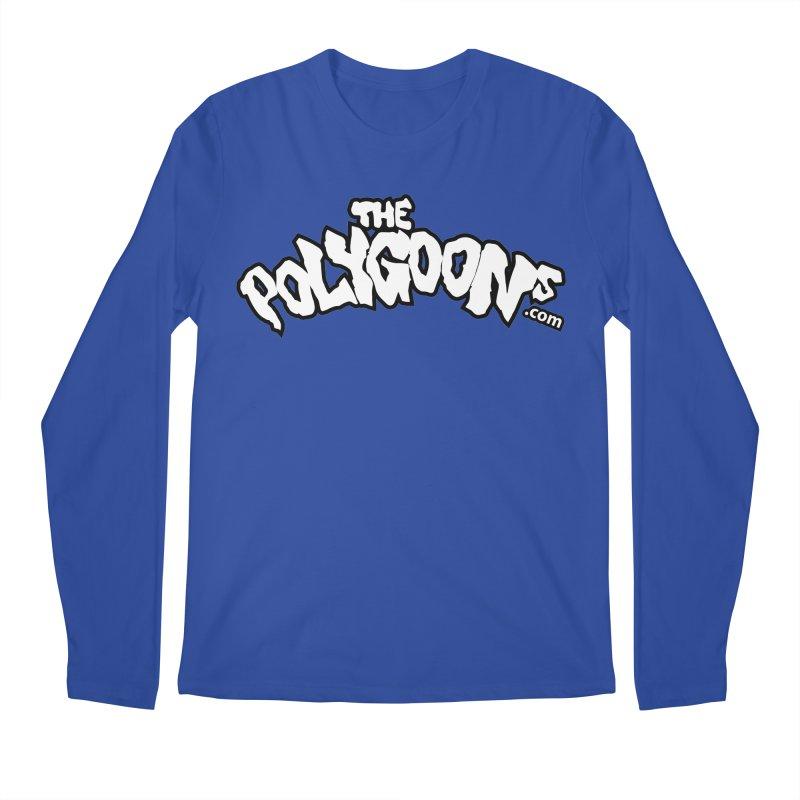 The Polygoons Logo BIG Men's Regular Longsleeve T-Shirt by The Polygoons' Shop