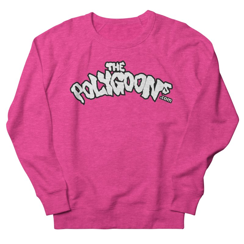 The Polygoons Logo BIG Men's French Terry Sweatshirt by The Polygoons' Shop
