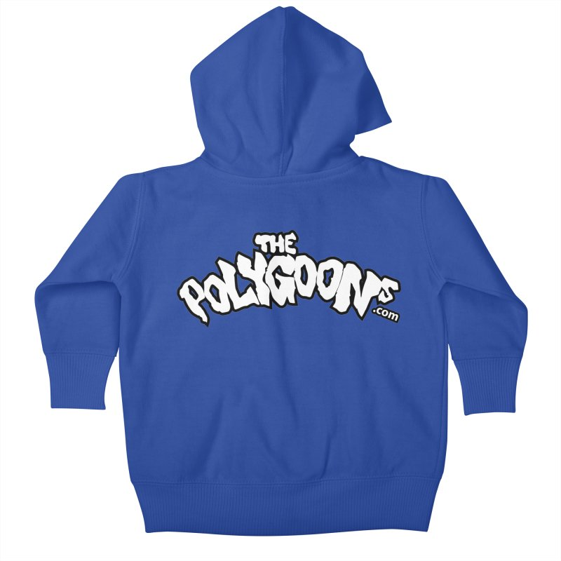 The Polygoons Logo BIG Kids Baby Zip-Up Hoody by The Polygoons' Shop