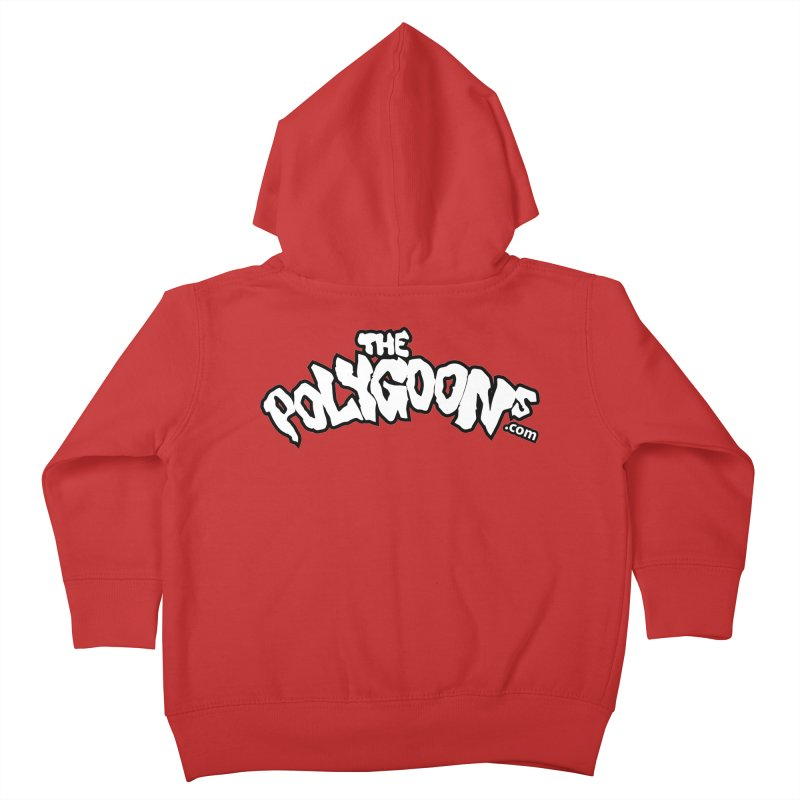 The Polygoons Logo BIG Kids Toddler Zip-Up Hoody by The Polygoons' Shop