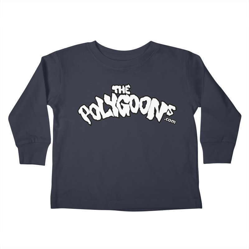 The Polygoons Logo BIG Kids Toddler Longsleeve T-Shirt by The Polygoons' Shop