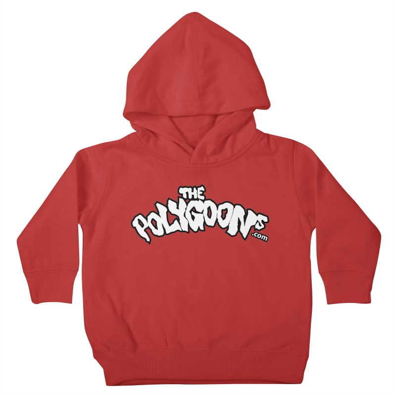 The Polygoons Logo BIG Kids Toddler Pullover Hoody by The Polygoons' Shop