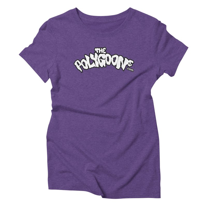 The Polygoons Logo BIG Women's Triblend T-Shirt by The Polygoons' Shop