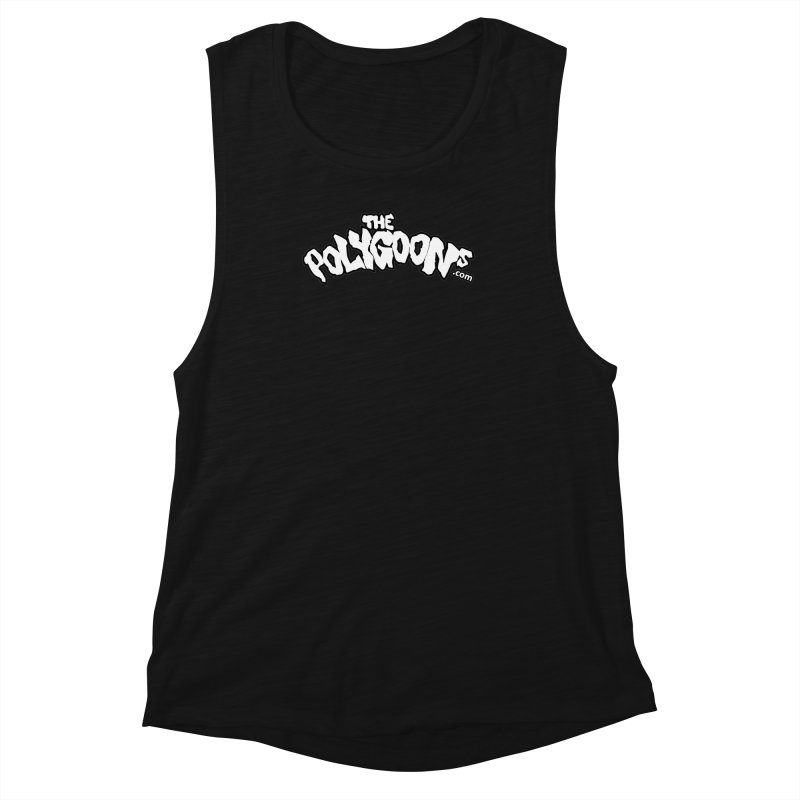 The Polygoons Logo BIG Women's Muscle Tank by The Polygoons' Shop