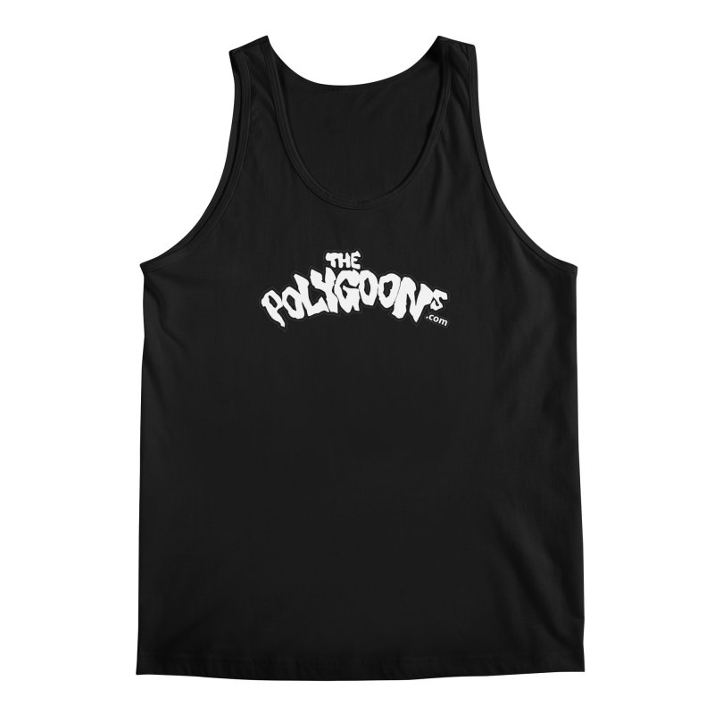 The Polygoons Logo BIG Men's Regular Tank by The Polygoons' Shop