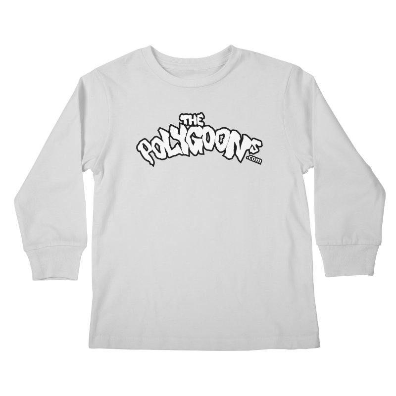 The Polygoons Logo BIG Kids Longsleeve T-Shirt by The Polygoons' Shop