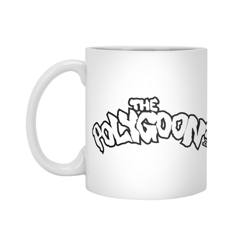 The Polygoons Logo BIG Accessories Standard Mug by The Polygoons' Shop