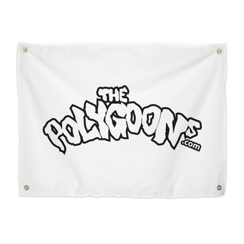 The Polygoons Logo BIG Home Tapestry by The Polygoons' Shop