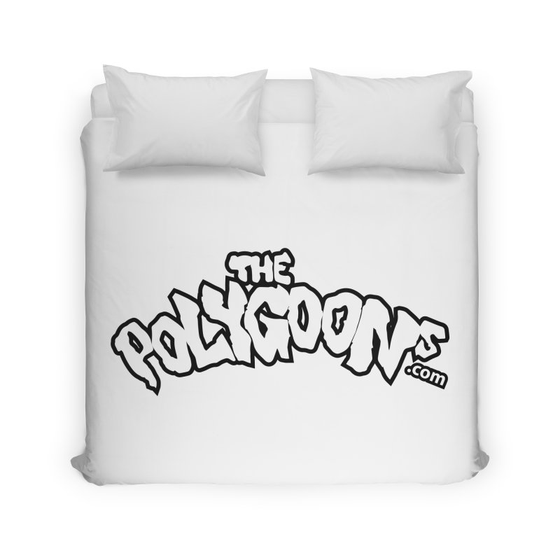 The Polygoons Logo BIG Home Duvet by The Polygoons' Shop