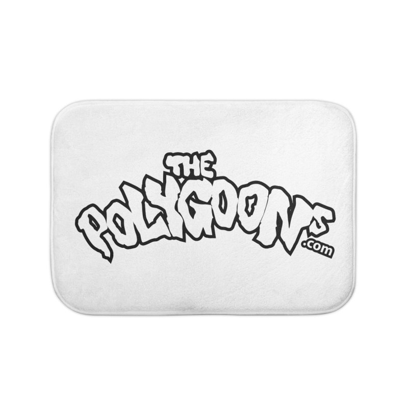 The Polygoons Logo BIG Home Bath Mat by The Polygoons' Shop