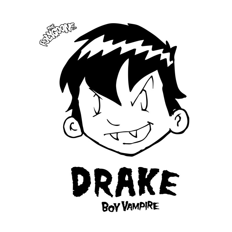 Drake - Boy Vampire  Accessories Notebook by The Polygoons' Shop