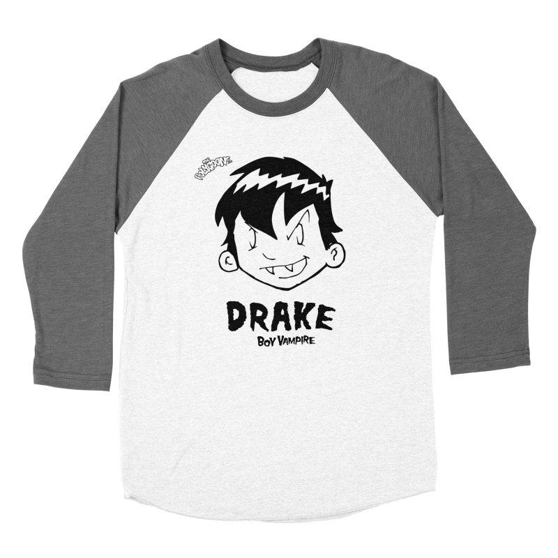 Drake - Boy Vampire  Women's Longsleeve T-Shirt by The Polygoons' Shop