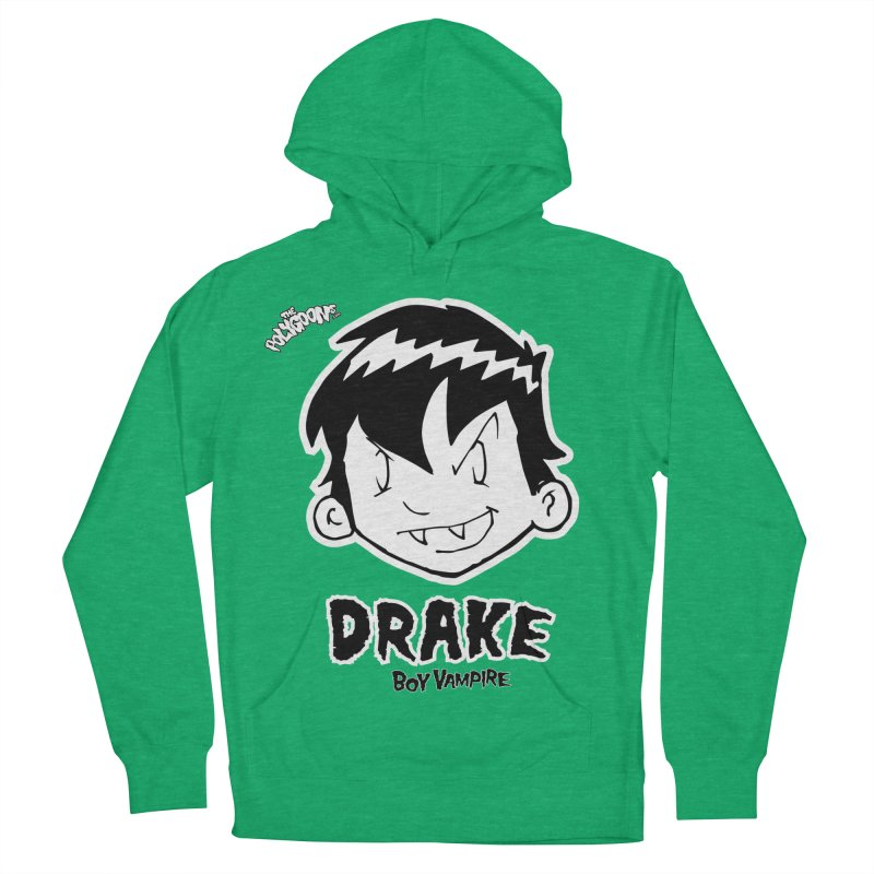 Drake - Boy Vampire  Men's French Terry Pullover Hoody by The Polygoons' Shop