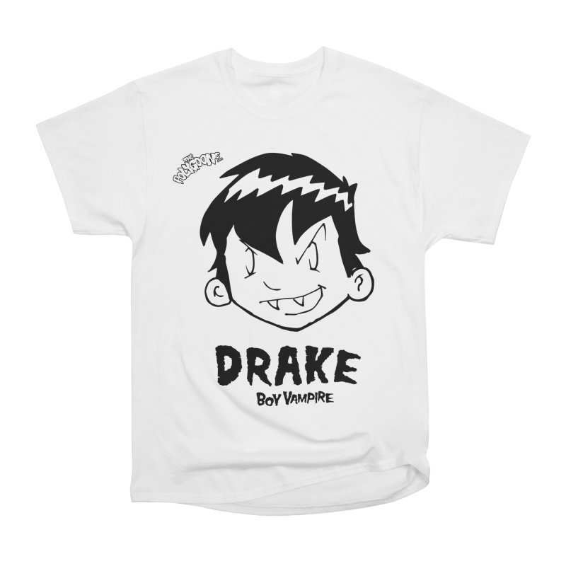 Drake - Boy Vampire  Men's Heavyweight T-Shirt by The Polygoons' Shop