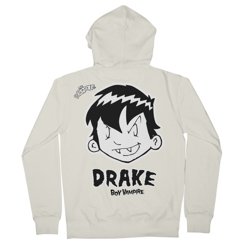 Drake - Boy Vampire  Women's French Terry Zip-Up Hoody by The Polygoons' Shop