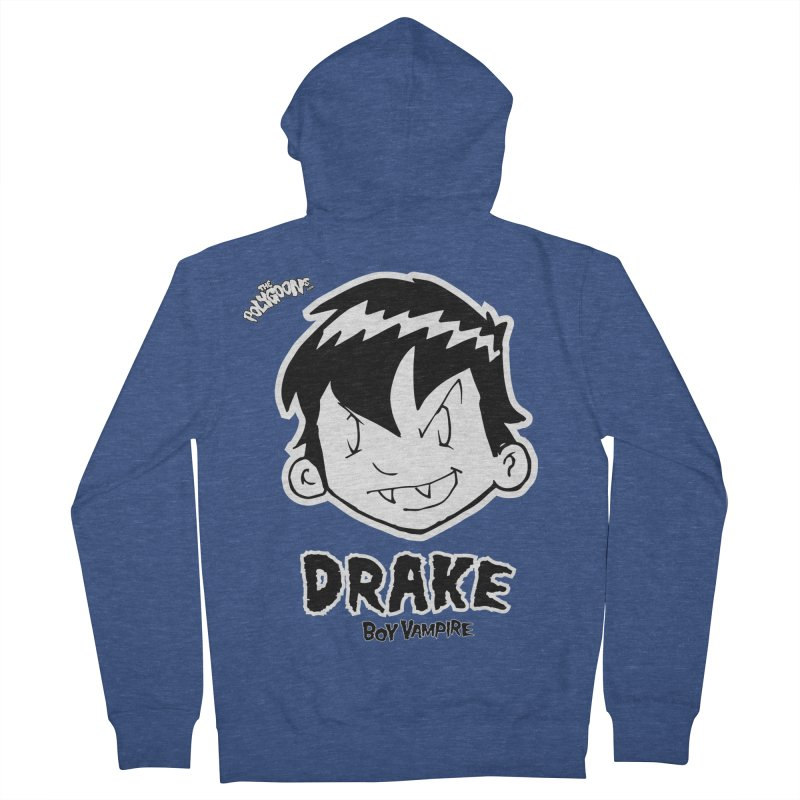 Drake - Boy Vampire  Men's French Terry Zip-Up Hoody by The Polygoons' Shop