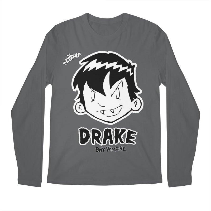 Drake - Boy Vampire  Men's Regular Longsleeve T-Shirt by The Polygoons' Shop