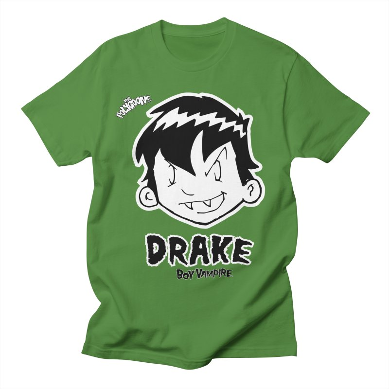 Drake - Boy Vampire  Men's Regular T-Shirt by The Polygoons' Shop