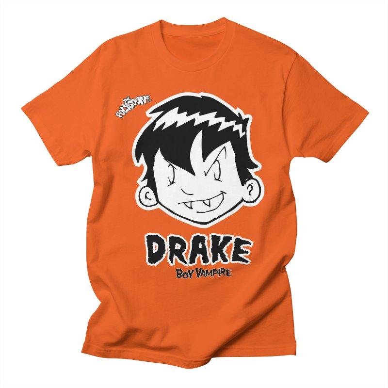 Drake - Boy Vampire  Women's Regular Unisex T-Shirt by The Polygoons' Shop