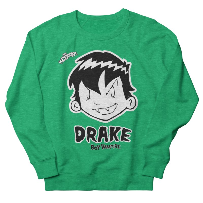 Drake - Boy Vampire  Women's French Terry Sweatshirt by The Polygoons' Shop
