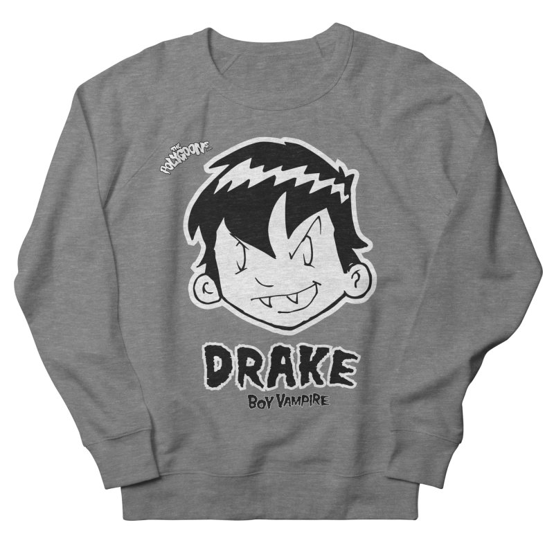 Drake - Boy Vampire  Men's French Terry Sweatshirt by The Polygoons' Shop
