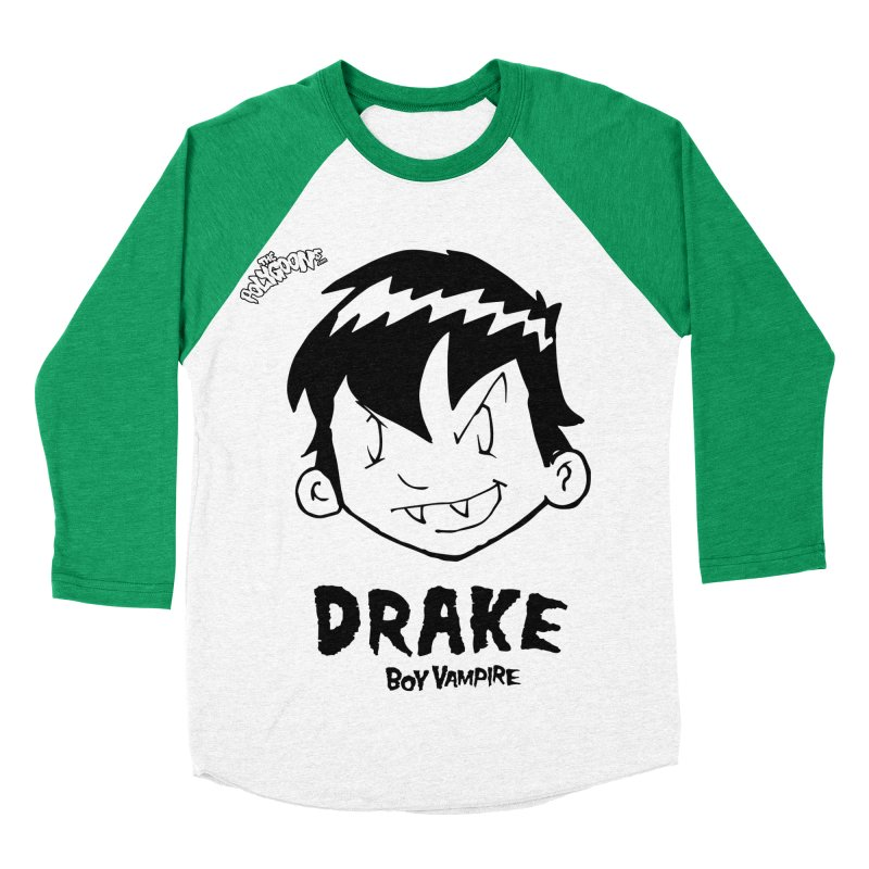 Drake - Boy Vampire  Women's Baseball Triblend Longsleeve T-Shirt by The Polygoons' Shop