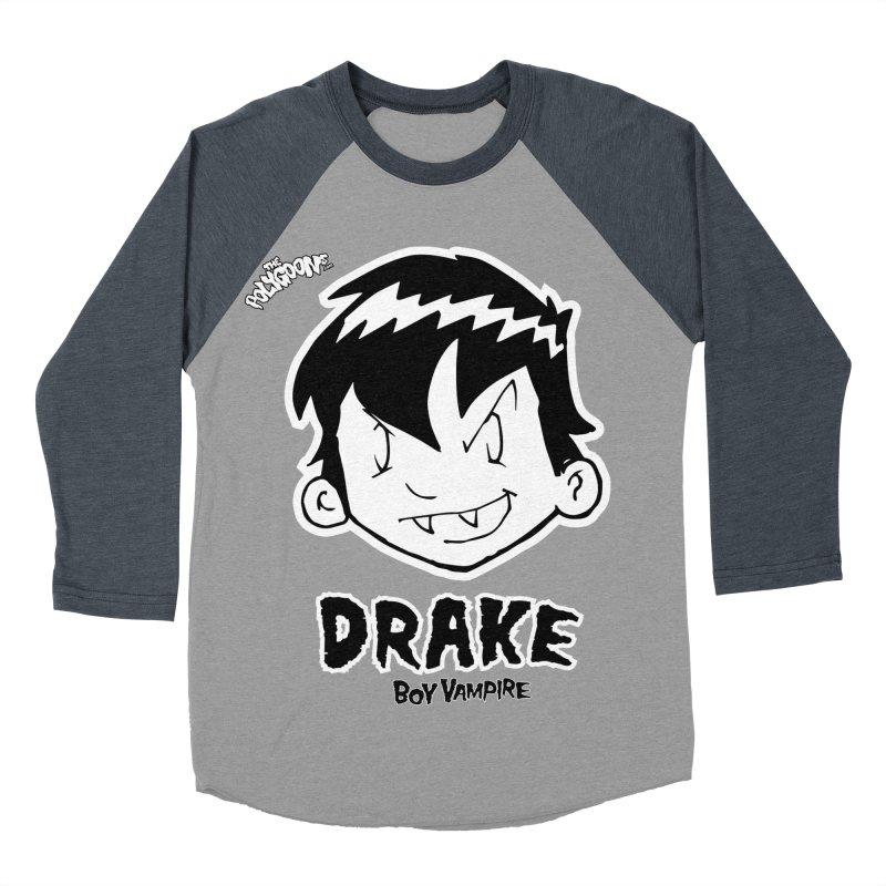 Drake - Boy Vampire  Women's Baseball Triblend Longsleeve T-Shirt by The Polygoons' Shop