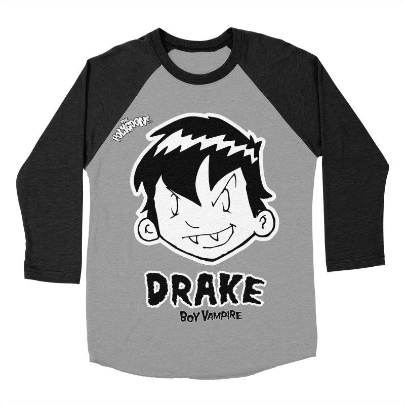 Drake - Boy Vampire  Men's Baseball Triblend Longsleeve T-Shirt by The Polygoons' Shop