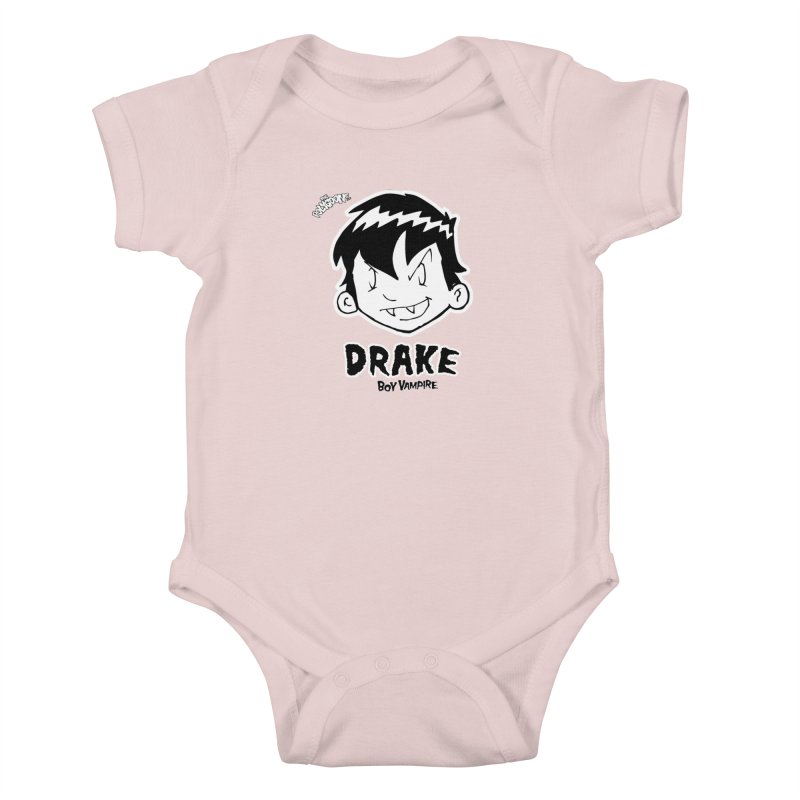 Drake - Boy Vampire  Kids Baby Bodysuit by The Polygoons' Shop