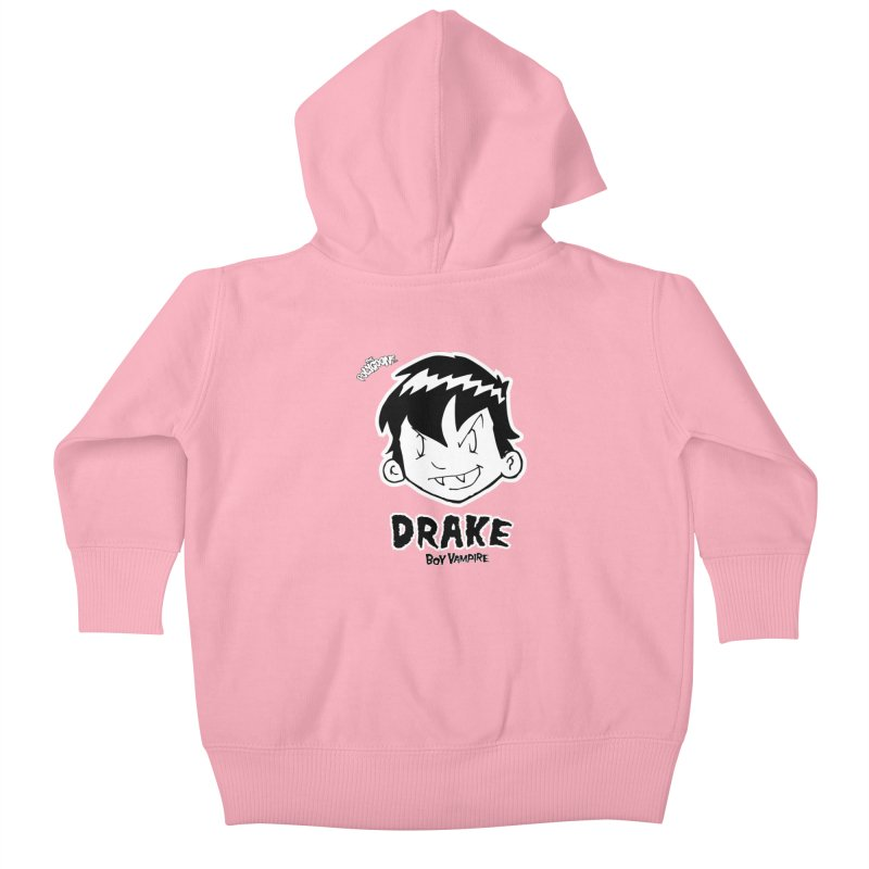 Drake - Boy Vampire  Kids Baby Zip-Up Hoody by The Polygoons' Shop