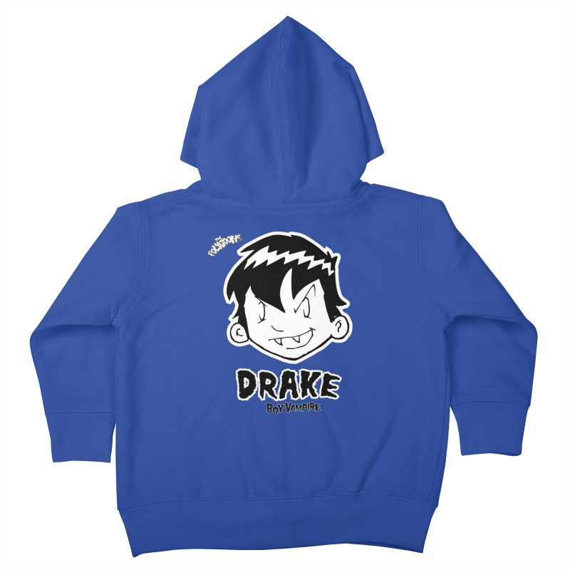 Drake - Boy Vampire  Kids Toddler Zip-Up Hoody by The Polygoons' Shop