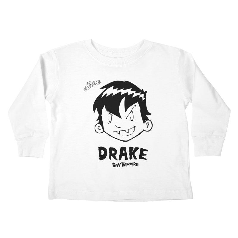 Drake - Boy Vampire  Kids Toddler Longsleeve T-Shirt by The Polygoons' Shop