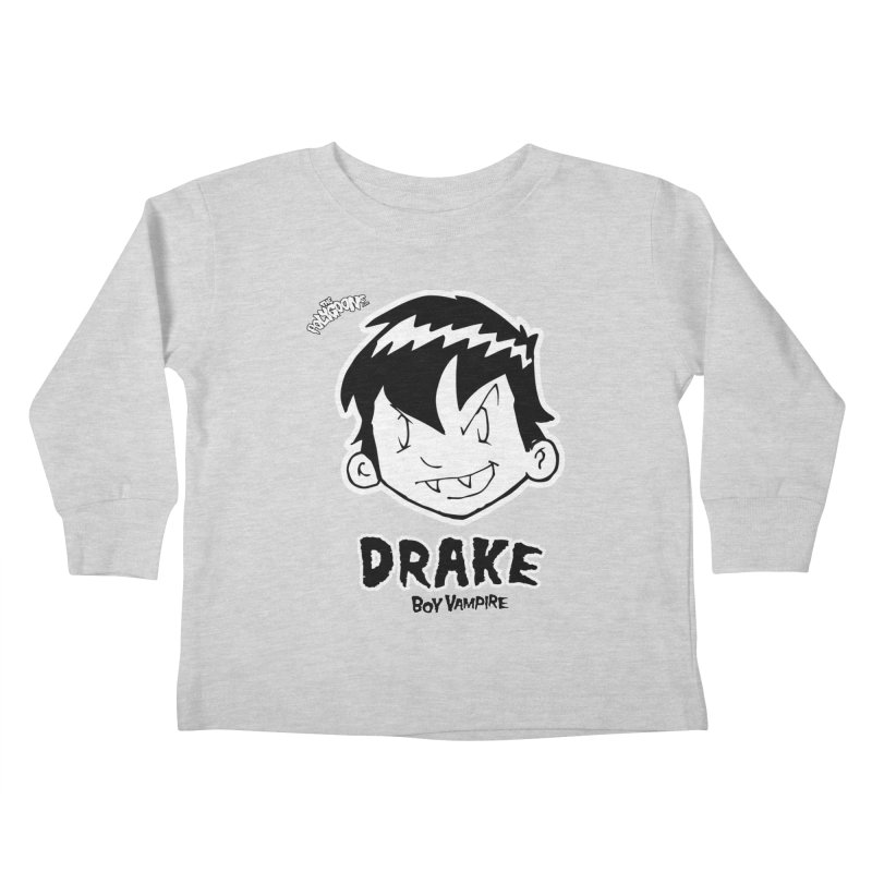 Drake - Boy Vampire  Kids Toddler Longsleeve T-Shirt by The Polygoons' Shop