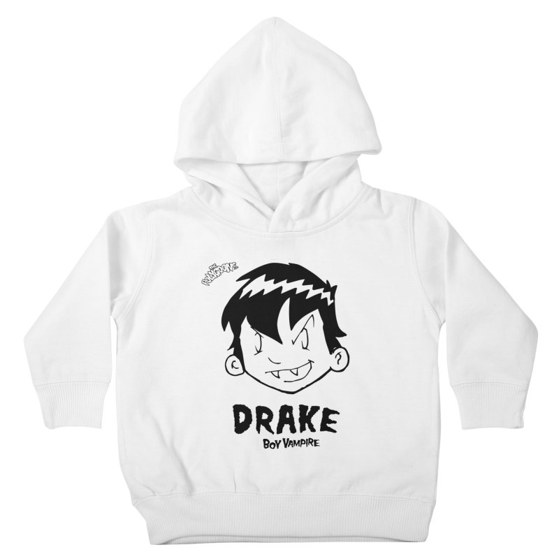 Drake - Boy Vampire  Kids Toddler Pullover Hoody by The Polygoons' Shop