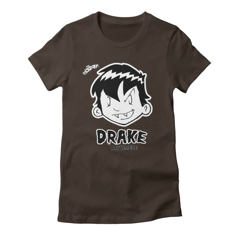 Drake - Boy Vampire  Women's Fitted T-Shirt by The Polygoons' Shop