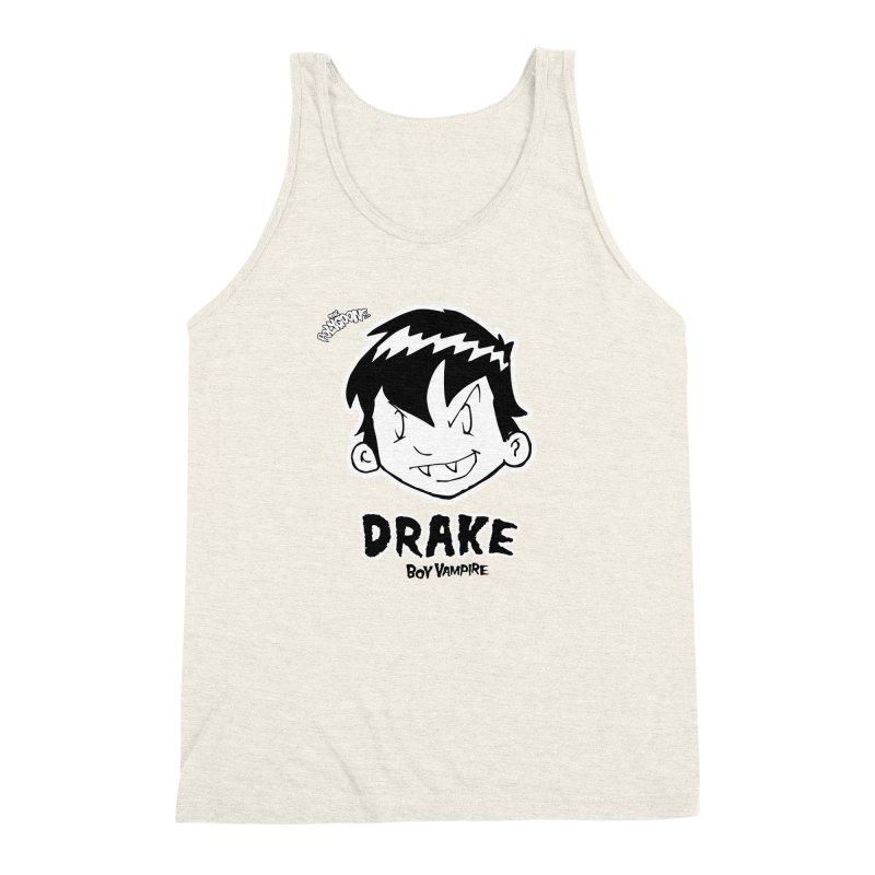 Drake - Boy Vampire  Men's Triblend Tank by The Polygoons' Shop