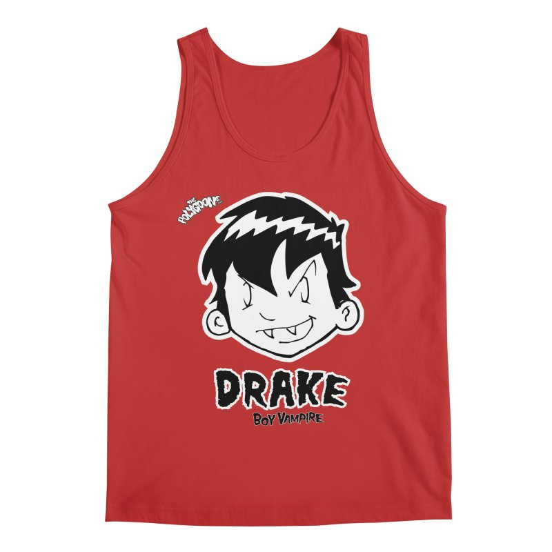 Drake - Boy Vampire  Men's Regular Tank by The Polygoons' Shop