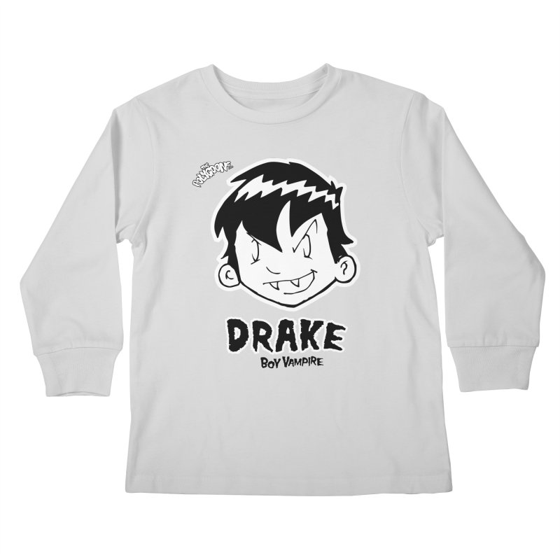 Drake - Boy Vampire  Kids Longsleeve T-Shirt by The Polygoons' Shop