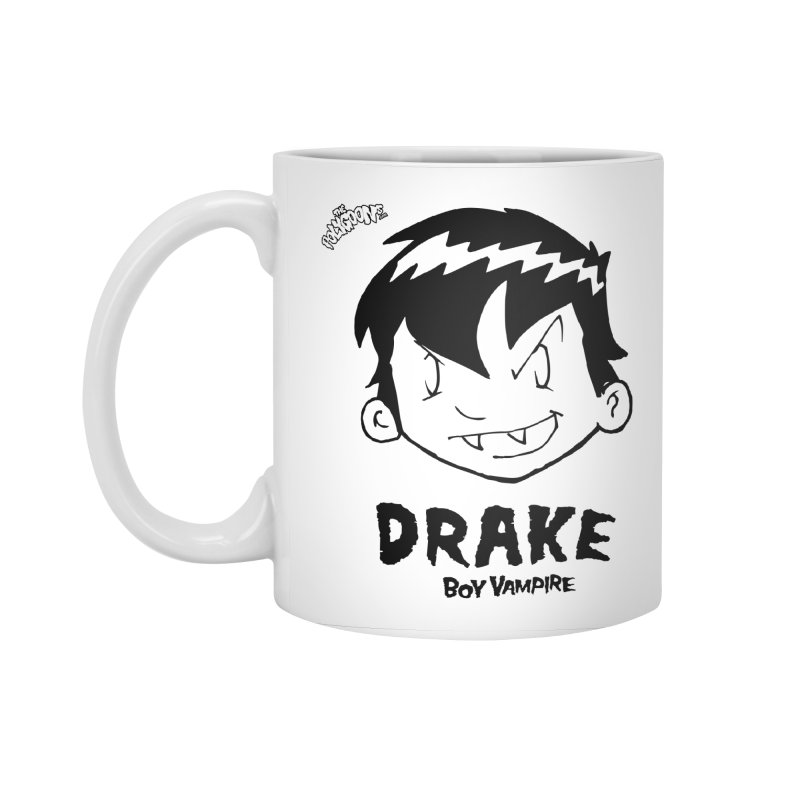 Drake - Boy Vampire  Accessories Standard Mug by The Polygoons' Shop