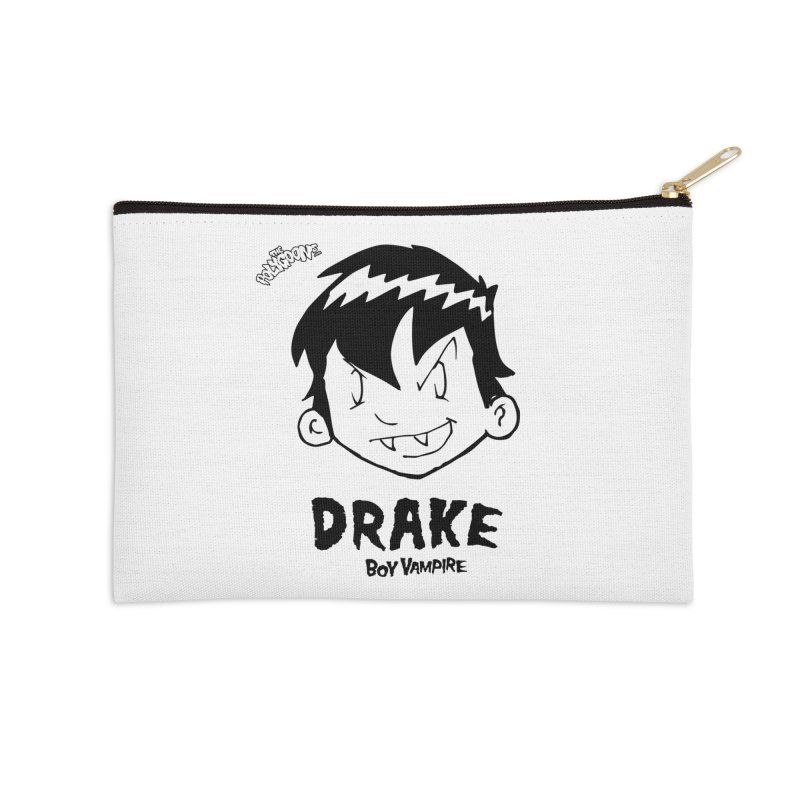 Drake - Boy Vampire  Accessories Zip Pouch by The Polygoons' Shop